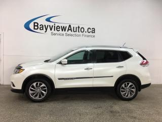 Used 2015 Nissan Rogue SL - AWD! HTD LEATHER! PANOROOF! NAV! for sale in Belleville, ON