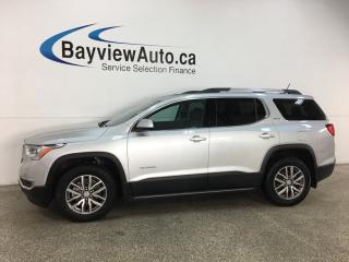 Used 2019 GMC Acadia SLE-2 - AWD! 6PASS QUAD SEATING! V6! DBL ROOF! ALLOYS! & MORE! ONLY 16,000KMS! for sale in Belleville, ON