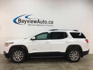 Used 2019 GMC Acadia SLE-2 - AWD! 6PASS QUAD SEATING! ROOF! ALLOYS! PWR GROUP for sale in Belleville, ON