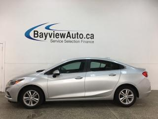 Used 2017 Chevrolet Cruze LT Auto - AUTO! ALLOYS! 9SPD AUTO! TURBO DIESEL! PWR/HTD SEATS! for sale in Belleville, ON