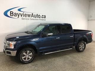 Used 2018 Ford F-150 XLT - XTR! V6! 4X4! REVERSE CAM! SYNC! 25,000KMS! for sale in Belleville, ON