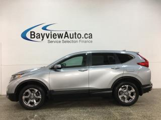 Used 2017 Honda CR-V EX-L - AWD! HTD LEATHER! SUNROOF! 38,000KMS! for sale in Belleville, ON