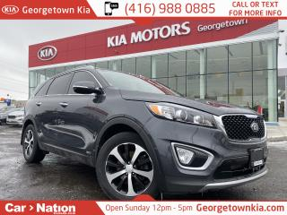 Used 2017 Kia Sorento EX TURBO | AWD | LEATHER | APPLE/ANDROID | for sale in Georgetown, ON