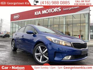 Used 2017 Kia Forte EX LUXURY | LEATHER | SUNROOF | APPLE/ANDROID | for sale in Georgetown, ON