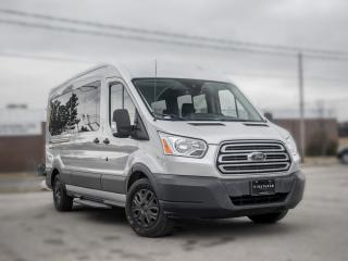 Used 2017 Ford Transit Wagon XLT I 12 Passenger I NAV I Back up I CLEAN CARFAX for sale in Toronto, ON
