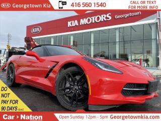 Used 2017 Chevrolet Corvette STINGRAY CONVERTIBLE | NAVI | CAMERA | LEATHER | for sale in Georgetown, ON