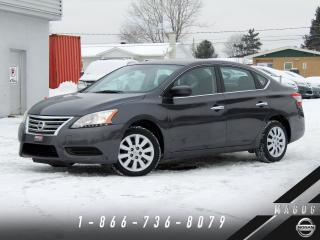 Used 2015 Nissan Sentra 1.8 S + SIÈGES CHAUFF. + BLUETOOTH! for sale in Magog, QC