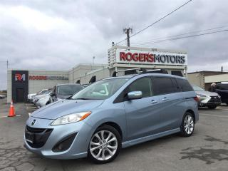 Used 2013 Mazda MAZDA5 GT - 6 PASS - SUNROOF - LEATHER for sale in Oakville, ON