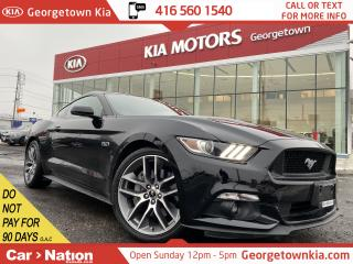 Used 2017 Ford Mustang GT Premium 6 SPEED |5.0L|BORLA|LEATHER|BU CAM|NAVI for sale in Georgetown, ON