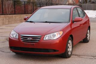 Used 2010 Hyundai Elantra GL LOW KMs  | ONLY 71K | 1-Owner | NO Accidents for sale in Waterloo, ON