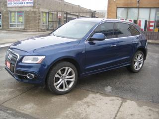 Used 2017 Audi Q5 S-LINE/NAV/R.CAMERA/SUNROOF/BALANCE OF WARRANTY for sale in North York, ON