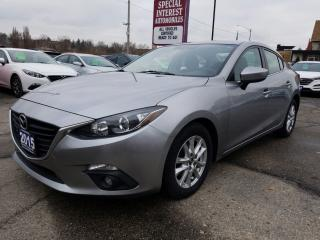 Used 2015 Mazda MAZDA3 GS 6 SPEED !!  SUNROOF !!  BLUE TOOTH !! for sale in Cambridge, ON