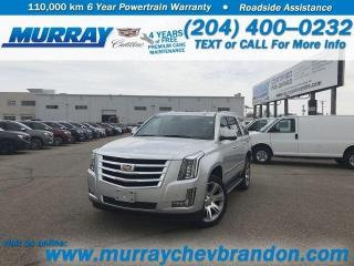 New 2020 Cadillac Escalade LUXURY for sale in Brandon, MB