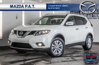Used 2016 Nissan Rogue SV+CAMERA DE RECUL+SIÈGES CHAUFFANTS+BLUETOOTH for sale in Montréal, QC