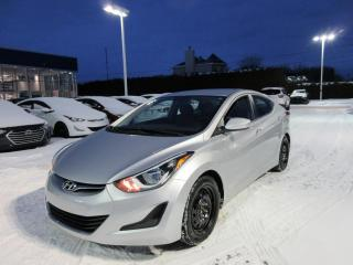 Used 2015 Hyundai Elantra Berline 4 portes, boîte automatique, GL for sale in Joliette, QC