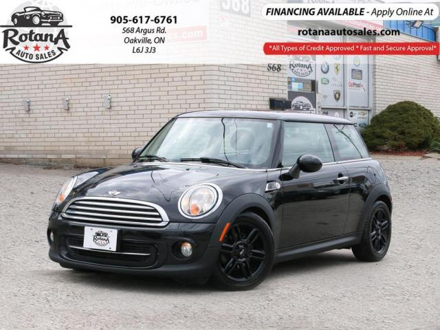 2013 MINI Cooper 2dr Cpe_Accident free_Sunroof_Leather_Low KMs