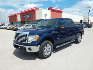Used 2012 Ford F-150 XLT 4x4 Crew Cab Pickup 144.5 in. WB for sale in Steinbach, MB