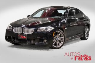 Used 2013 BMW 5 Series 550i xdrive m pack for sale in Dorval, QC