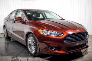 Used 2015 Ford Fusion TITANIUM AWD TOIT NAV for sale in Île-Perrot, QC