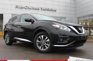 Used 2015 Nissan Murano One owner trade. Clean carfax. Nissan certified preowned with only 25000kms for sale in Toronto, ON