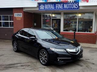 Used 2015 Acura TLX V6ElitePkg,FullyLoaded,Navi,Leather,Sunroof,CoolSeats/RearHeatedSeats,BlindSpot,CollisionPrevention,ExtraClean,AcuraWarranty for sale in Toronto, ON