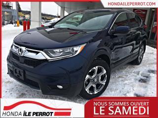 Used 2018 Honda CR-V EX-L WOW JAMAIS ACCIDENTÉ, INTÉRIEUR EN CUIR for sale in Île-Perrot, QC