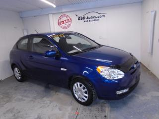 Used 2011 Hyundai Accent L SPORT for sale in Ancienne Lorette, QC