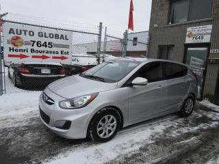 Used 2013 Hyundai Accent Voiture à hayon, 5 p, boîte man GL for sale in Montréal, QC