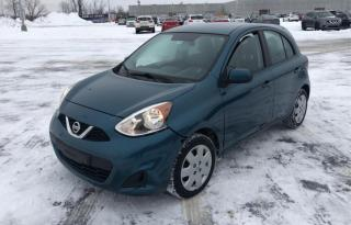 Used 2016 Nissan Micra Sv A/c for sale in St-Constant, QC