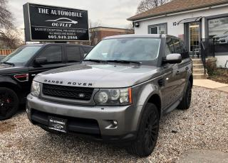 Used 2010 Land Rover Range Rover Sport HSE AWD NAVI BACK-UP LEATHER SUNROOF NO ACCIDENT for sale in Mississauga, ON