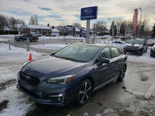 Used 2017 Subaru Impreza SPORT-TECH TOIT CUIR GPS AWD for sale in Repentigny, QC