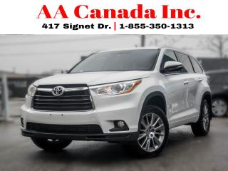 Used 2015 Toyota Highlander XLE |LEATHER|SUNROOF|NAVI| for sale in Toronto, ON
