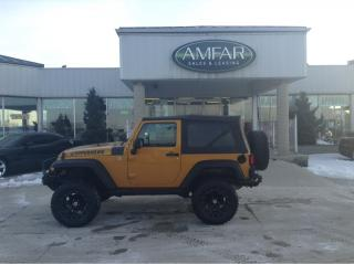 Used 2014 Jeep Wrangler Sport / RIMS / BUMPERS / NO PAYMENTS FOR 6 MONTHS for sale in Tilbury, ON