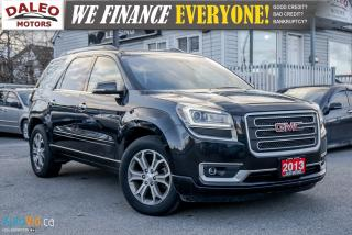 Used 2013 GMC Acadia SLT1 | BACK-UP CAM | NAVIGATION | HEATED SEATS for sale in Hamilton, ON