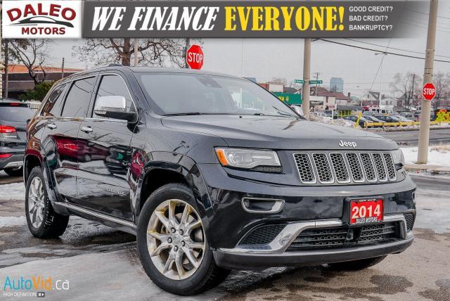 2014 Jeep Grand Cherokee Summit | PANO ROOF | NAV | BACKUP CAM | 4WD |