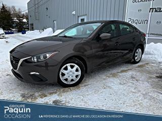 Used 2016 Mazda MAZDA3 GX TRÈS EN DEMANDE! for sale in Rouyn-Noranda, QC
