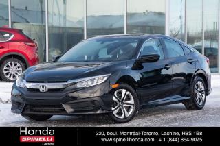 Used 2016 Honda Civic LX AUTO MAGS BAS KM AUTO MAGS BAS KM BLUETOOTH for sale in Lachine, QC