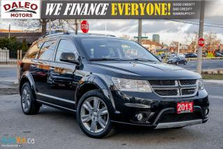 Used 2013 Dodge Journey R/T | HEATED SEATS | BACKUP CAM | DVD | NAVIGATION for sale in Hamilton, ON