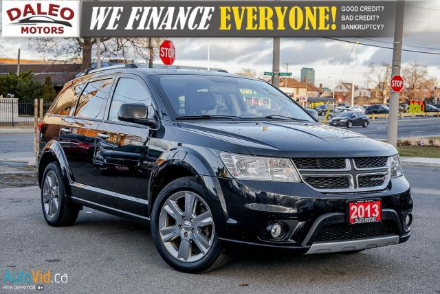 2013 Dodge Journey R/T | HEATED SEATS | BACKUP CAM | DVD | NAVIGATION