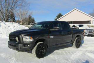 Used 2016 RAM 1500 Tradesman CREW CAB 4X4 BOITE 6.4pi for sale in Thetford Mines, QC