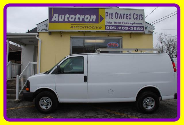 2013 Chevrolet Express 3500 1 Ton Cargo Van, Roof Rack, Loaded