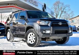 Used 2013 Toyota 4Runner ***RÉSERVÉ***TRAIL EDITION GROUPE ÉLECTRIQUE, BAS KM! for sale in Pointe-Claire, QC