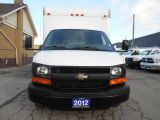 2012 Chevrolet Express 3500 14Ft Aluminium Cube Van Loaded ONLY 54,000KMs