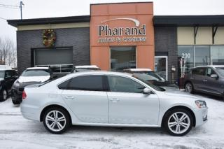 Used 2013 Volkswagen Passat Highline diesel for sale in Vaudreuil-Dorion, QC