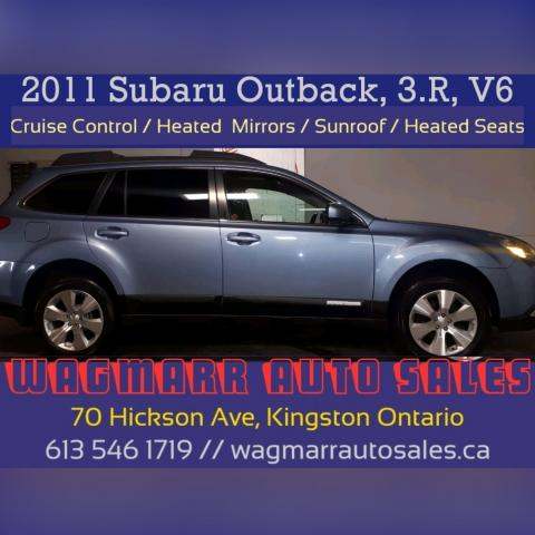 2011 Subaru Outback 3.6R Prem Pwr Moon