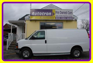 Used 2017 GMC Savana 2500 3/4 Ton Cargo Van, Loaded, Cruise for sale in Woodbridge, ON