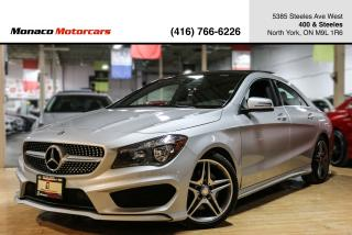 Used 2016 Mercedes-Benz CLA-Class CLA250 AMG - BLINDSPOT|NAVI|BACKUP|PANO ROOF for sale in North York, ON