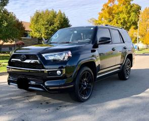 Used 2019 Toyota 4Runner LIMITED   NIGHTSHADE EDITION   7 PASSENGER   RARE for sale in St. Catharines, ON