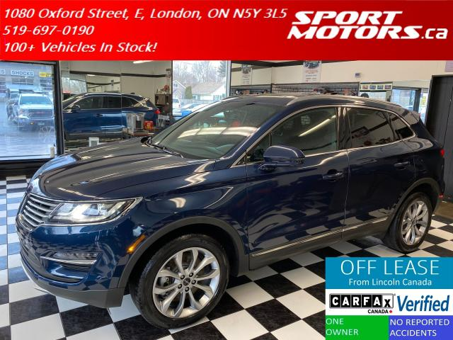 2017 Lincoln MKC Select AWD ECO+Blind Spot+GPS+Camera+NewTires+Roof