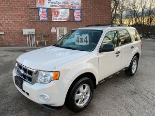 Used 2012 Ford Escape XLT/4WD/2.5L/SAFETY+WARRANTY INCL/2SETS OF TIRES for sale in Cambridge, ON